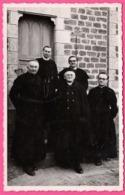 Cp Photo Dentelée - Abbé ROGER MAILLOT Vicaire à Ceauce - Curé De Tavernier Paris Deslandes - Mission Décembre 1948 - France