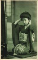 Japan, Beautiful Geisha Lady In Kimono At Toilet (1910s) Postcard - Japan