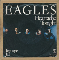 "7"" Single, Eagles - Heartache Tonight - Disco, Pop"