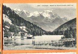 LAC006, Champex, Massif Du Grand Combin, 2094, édit. Phototypie, Non Circulée - VS Valais