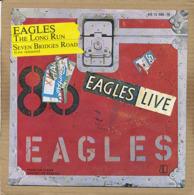 """7"""" Single, Eagles - The Long Run / Seven Bridges Road (Live Versions) - Disco, Pop"""