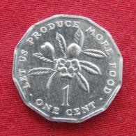 Jamaica 1 Cent 1991 KM# 64 Fao F.a.o.  Jamaique Jamaika - Jamaique