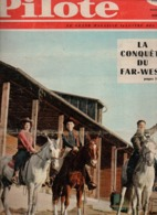 Pilote N°7 Les Leçons De Kopa - Bison Noir - Pilotorama : La Conquête De L'ouest - Michel Tanguy De 1959 - Pilote
