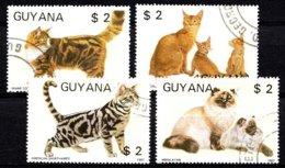 Guyana 1987 Mi.nr: Katzen  Oblitérés / Used / Gestempeld - Chats Domestiques