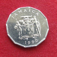 Jamaica 1 Cent 1990 KM# 64 Fao F.a.o.  Jamaique Jamaika - Jamaique