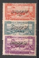 Grand Liban - 1943 - Poste Aérienne PA N°Yv. 82 à 84 - Série Complète - Neuf * / MH VF - Aéreo