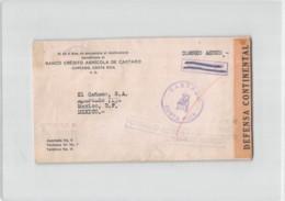 14542 BANCO CREDITO AGRICOLA DE CARTAGO COSTA RICA TO MEXICO - Costa Rica