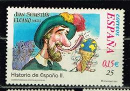 Spanien 2001, Michel# 3660 O Juan Sebastian Elcano's Circumnavigation 1522 - 1931-Today: 2nd Rep - ... Juan Carlos I