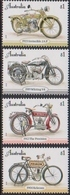 AUSTRALIA, 2018, MNH, MOTORBIKES, VINTAGE MOTORCYCLES,4v - Moto