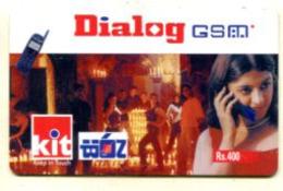 TK 13450 SRI LANKA - Prepaid - Sri Lanka (Ceylon)