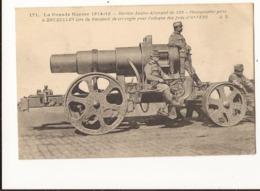 Militaria Mortier Austro Allemand De 320 Photographie Prise à Bruxelles Lors Du Transport De Cet Engin - Weltkrieg 1914-18