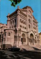 ! Moderne Ansichtskarte Monaco, Autos, Cars, Opel, Citroen, Cathedrale, 1970 - PKW