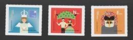 3 LABEL STAMPS Sticker PORTUGAL Feasts AZORES AÇORES Carnival ILHAVO LISBON 2012 - 1910-... République