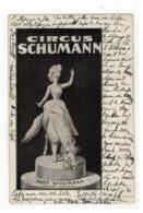 CIRCUS SCHUMANN  DORA SCHUMANN 1902 - Cirque