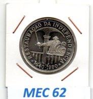 MEC 62 * 100 Escudos 1990 Restauração Da Independência * Portugal - Portugal