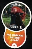 Carte à Collectionner Disney Auchan Les Défis Challenge Mérida 17 / 96 - Andere Sammlungen