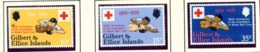 GILBERT AND ELLICE ISLANDS  -  1970 Red Cross Set Unmounted/Never Hinged Mint - Gilbert & Ellice Islands (...-1979)