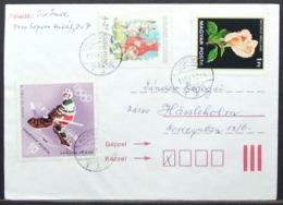 Hungary - Cover 1993 Rose Fairy Tale Hockey - Rosas