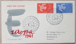 France FDC 1961 Europa - Francia