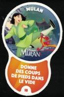 Carte à Collectionner Disney Auchan Les Défis Challenge Mulan 18 / 96 - Andere Sammlungen
