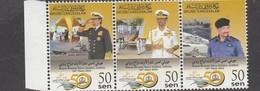 2015 Brunei Navy Warships Complete Strp Of 3 MNH @ FACE - Brunei (1984-...)
