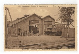 223. Hoogboom  Troupes De Chemin De Fer  - Spoorwegtroepen  Remise Des Locomotives Bergplaats Der Lokomotieven - Kapellen