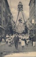 1912 FRANCIA - TARARE , T.P. SIN CIRCULAR ,  FÉTES DE GYMNASTIQUE , GIMNASIA , LE DÓME DE L'USINE GRAVILLON - Gimnasia