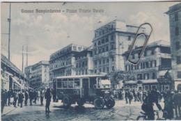Genova Sampierarena Piazza Vittorio Veneto Autobus Bus Pulmann Corriera Animatissima - Other Cities