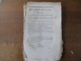 BULLETIN DES LOIS 21 FLOREAL AN XII ARRÊTE CONCERNANT LES BIENS DEVOLUS A LA FRANCE PAR LE TRAITE DE LUNEVILLE ET LE REC - Decrees & Laws