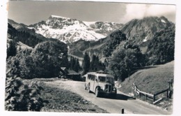 CH-5625   ADELBODEN : Postauto Mit Wildstrubel ( Klopfensein 18072 ) - BE Bern