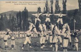 1912 FRANCIA - TARARE , T.P. SIN CIRCULAR ,  FÉTES DE GYMNASTIQUE , GIMNASIA , TERRAIN DU CONCOURS - Gimnasia