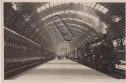 Milano Stazione Centrale Treno Locomotore A Vapore Ferrovia - Milano (Milan)