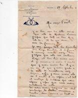 LAC 1931 - Cachet  ALGER - MUSTAPHA  / Lettre Avec Entête  Salle De Récréation Du 5èm Régiment De Chasseurs D'Afrique - Briefe U. Dokumente