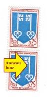 YT 1469 - Blason De Mont De Marsan - Variété Anneau Lune + N° Rouge Au Verso - NEUFS** - 3 Scans - Unclassified