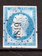 LOSANGE PC 1819 Lyons-la-Forêt Sur NAPOLEON N°14A / DISPERSION D'UNE COLLECTION!! - 1853-1860 Napoléon III