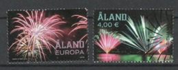 Aland, Yv 460-61 Jaar 2018, Hele Hoge Waarde, Reeks,  Gestempeld - Aland