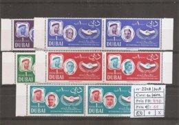 Dubai ( 221/230 En Paires XXX -MNH) - Dubai