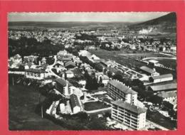 CPSM Grand Format -   Champagnole -(Jura) - Vue Aérienne -  Les H.L.M. - Champagnole