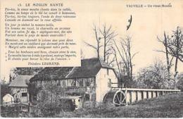 14 - VAUVILLE : Un Vieux Moulin ( à Eau ) Water Mill Wassermühle Watermolen - CPA - Calvados - Andere Gemeenten