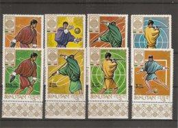 JO De Mexico-1968 ( 187/194 XXX -MNH- Du Bhoutan) - Sommer 1968: Mexico