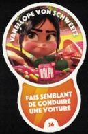 Carte à Collectionner Disney Auchan Les Défis Challenge Vanellope Von Schweetz 26 / 96 - Andere Sammlungen
