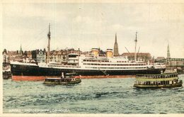 BATEAU FERRIE(ORINOCO) HAPAG - Ferries