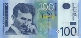 Serbie 100 Dinara (P49) 2013 -UNC- - Servië