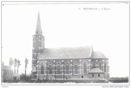 Carte Postale  59.  Hoymille  L'église Prés De Bergues  Trés Beau Plan - France