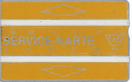 Autriche Old Phonecard - SERVICE-KARTE 120 Units Perfect Stat - Austria