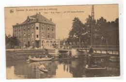 "Lanklaar  Lanklaer Hôtel ""Beau Séjour"", Pre Flle Houben-Brabants 1921 - Dilsen-Stokkem"