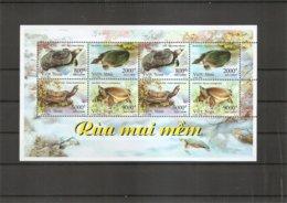 Tortues ( 2067/2070 En Feuille XXX -MNH- Du Vietnam) - Turtles