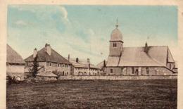 Chapelle-des-bois (doubs) Le Centre Du Village Carte Colorisée Circulé En 1935 - Pontarlier