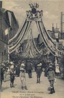 1912 FRANCIA - TARARE , T.P. SIN CIRCULAR ,  FÉTES DE GYMNASTIQUE , GIMNASIA , LES DÉCORATIONS - Gimnasia