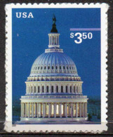 USA 2001 $3.50 Capitol Dome - Unused Stamps